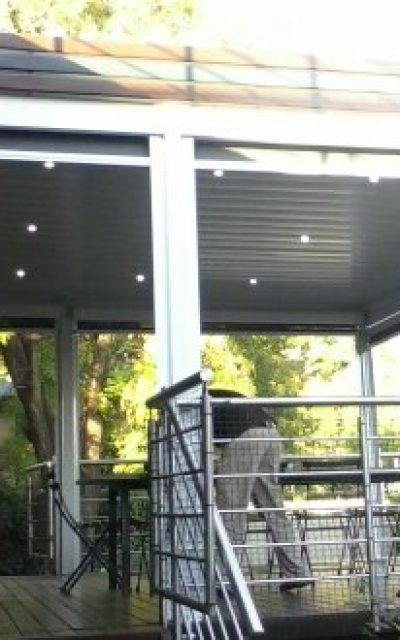 Underdeck Ceiling Awning